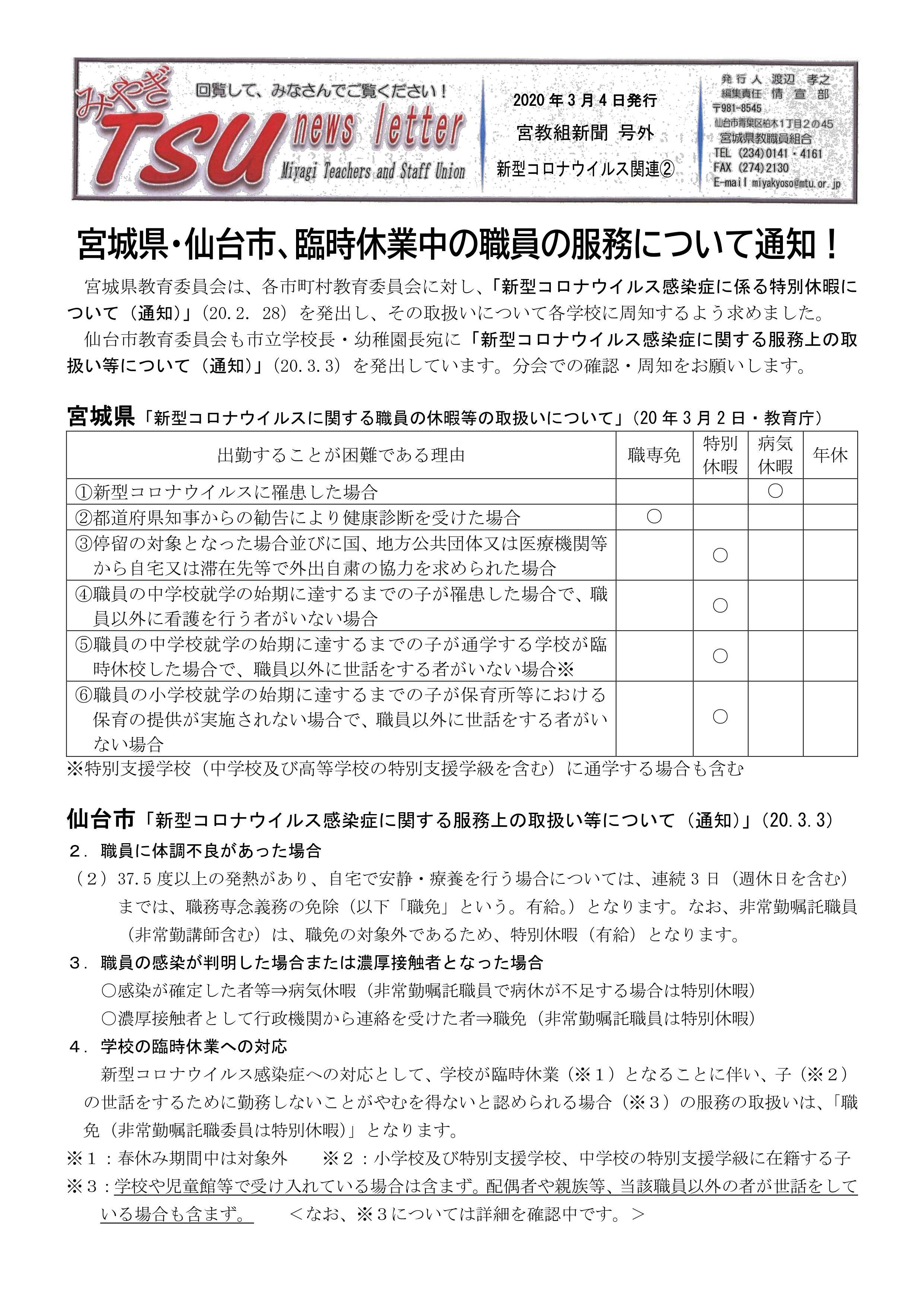 仙台 市 コロナ 速報